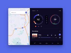 Daily UI 034 - Car Interface by Jennifer Yuchi