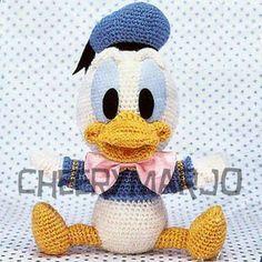 Amigurumi Donald Duck : 1000+ images about Crochet dolls on Pinterest Crochet ...