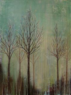 Emerging Spring (40 x 30)  Original Painting Sold, Prints Available