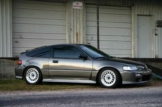 CRX [I had a brand new CRX Si of this generation. OMG! It was so much fun. That's where my love for Hondas & Acuras began. ~sdh]