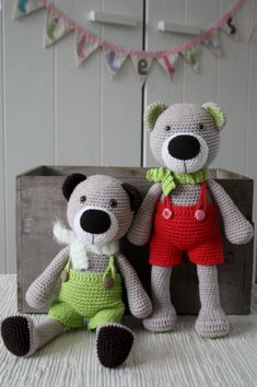 Theodor – the new teddy bear pattern