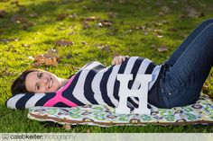 Pregnancy Picture Ideas With Props | Fun Maternity Photo Ideas | Caleb Keiter Photography