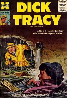 Dick Tracy Comic Books 1930s+