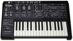 Roland SH-1. Never owned one - but this is what I played in a music shop for about four hours before admitting to the assistant that there was no way I could afford it.