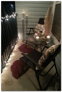 66 Best Small Patio Ideas images in 2018 | Apartment porch ...