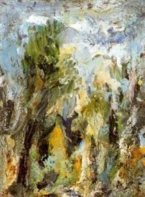 Clear Landscape - Eugene Leroy