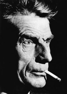 Portraits of Samuel Beckett Samuel Beckett, James Joyce, Book Writer, Writer Quotes, Writers And Poets, Portraits, Playwright, Look Cool, Filmmaking