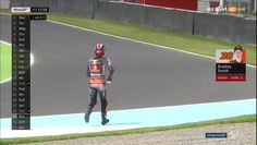 Argentina GP FP2 - Bradley Smith Running After His KTM Bradley Smith, Motogp, Running, Pets, Argentina, Wine, Keep Running, Why I Run, Animals And Pets