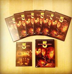 Vendo a soli 12,50 € cofanetto DVD della prima stagione di Babylon 5 - audio Ita/Eng/Fra - sottotitoli in 7 lingue - 22 episodi + tanti contenuti speciali.