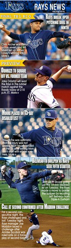 Tampa Bay Rays - 04/09/2014. GO RAYS!