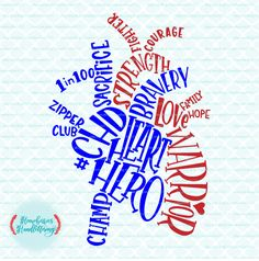 Hand Lettered CHD Anatomical Heart Typography Heart Hero Warrior 1 in 100 Zipper Club svg dxf eps jpg ai cut files for Cricut Silhouette by HomeberriesSVG on Etsy Warrior 1, Chd Awareness, Open Heart Surgery, Heart Month, Congenital Heart Defect, Personalized Greeting Cards, Anatomical Heart, Scrapbook, Unisex Baby