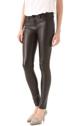 Vince Leather Motocross Skinny Pants - I NEED these pants!