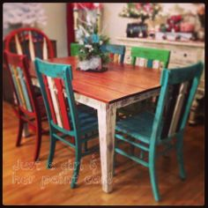 farmhouse table complete