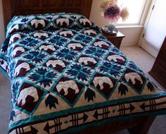 bear paw quilt | Quilts2011