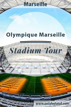 A stadium tour of the home of Olympique de Marseille, the Orange Velodrome. During this tour you get to see the dressing rooms, the stadium, the press room, pitchside and the players tunnel. Road Trip Europe, Europe Travel Guide, Travel Guides, Velodrome Marseille, Places To Travel, Travel Destinations, Travel Stuff, Paris France Travel, Stadium Tour