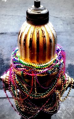 Mardi Gras in New Orleans transforms every aspect of the city into one HUGE party! Event the fire hydrant is feeling the carnival spirit!