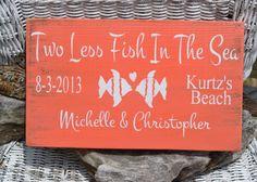 Beach Wedding Sign  Wedding Sign  Beach Decor by CarovaBeachCrafts, $34.00