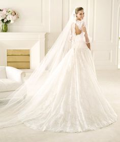 Bridesmaid Dresses, Wedding Dresses, Bridal - Pronovias Manuel Mota 2013 gelinlik modelleri (3)