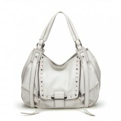 Jonnie - Spring 2014 - SHOP HANDBAGS I love, love, LOVE this bag! I especially love it in white. It seems more rebellious somehow. It's a workhorse of a bag in such a delicate color.