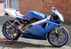 Cagiva Mito Chassis, Yamaha RD350 YPVS Engine, Aprilia RS250 Front End