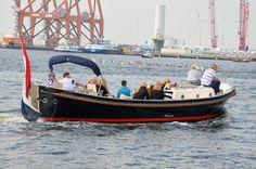 Luxe sloep huren Amsterdam met schipper