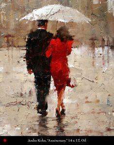 Andre Kohn,  Romancing in the Rain..