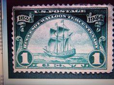 1924 #614 1 CENT HUGUENOT-WALLOON -UNUSED, NG, FINE+ GIN BONUS