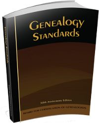 Pre-order your copy of the updated BCG Standards Manual today!  #genealogy