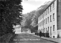 0183 Lower and Upper Mount Meltham Mills 1910.