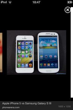 I phone 5 vs Samsung galaxy