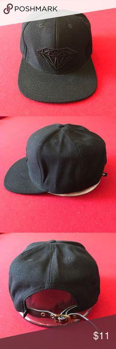 New and original all black diamond strapback New and original all black diamond strapback by diamond supply co. Diamond Supply Co. Accessories Hats