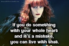 florence welch quotes - Buscar con Google
