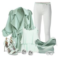 """""""Mint"""" by lchar ❤ liked on Polyvore"""