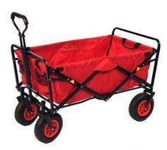 Mac Sport Utility Wagon, max laadvermogen 70kg_weegt 10kg_luchtbanden, 119 euro