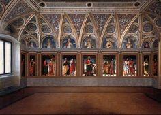Santa Maria della Passione. Sagrestia.  Bergognone.