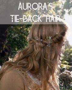 Get Aurora's Tie-Back Hair | Disney Style