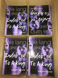 Indebted to A King paperback sale! http://lisalangblakeney.com/sale