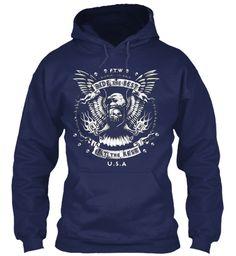 Usa Soccer/Sports T Shirts/Hoodies !  Navy Sweatshirt Front