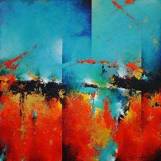 cody hooper art | Ancient Skies (2014) - 24x24 - $2500