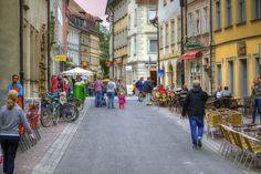 Austrasse in Bamberg