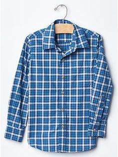 Plaid shirt   Gap