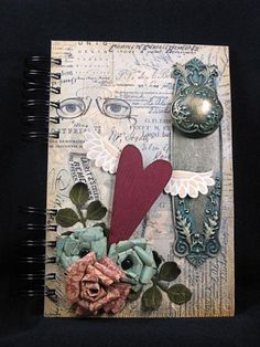 http://sherrycheever.blogs.splitcoaststampers.com/2012/04/25/the-e-team-journaling-we-go/  Beautiful journal!