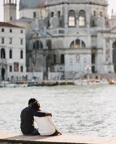 Dreaming of Venice.✈️Sara and Sharath captured by Flytographer Serena in Venice.