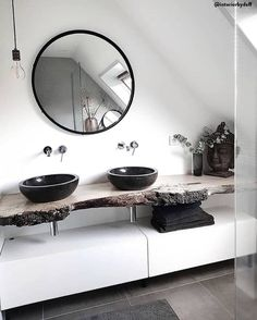 HOME SPA - Relax in your own bathroom! In a comfortable and comfortable bathroom you can . - HOME SPA – Relax in your own bathroom! In a comfortable bathroom, you can relax and recharge your - Bathroom Goals, Bathroom Spa, Bathroom Interior, Modern Bathroom, Master Bathroom, Bathroom Remodeling, Remodeling Ideas, Bad Inspiration, Bathroom Inspiration
