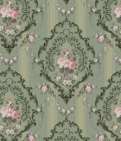 Antique style wallpaper