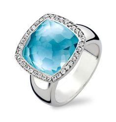 Tirisi Jewelry Milano Due 18 karaats Witgouden Ring met Topaas en Diamant Description: Tirisi Jewelry Milano Due 18 karaats Witgouden Ring met Topaas en Diamant Price: 3595.00 Meer informatie