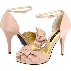 Cute Pink High Heels! Maybe @Jessika Rankin should look at these for wedding? :-)