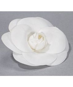 Chanel camellia gorgeous white fabric flower turn into a pin gorgeous white fabric flower turn into a pinbrooch new chanel camellia white fabrics and camellia mightylinksfo