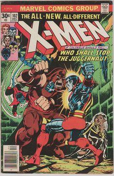 Uncanny X-Men V1 102.  VF. Dec 1976.  Marvel by RubbersuitStudios #xmen #storm #comicbooks