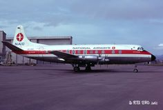 NAC Viscount, Christchurch, Sept 1974 Australian Airlines, Fixed Wing Aircraft, Air New Zealand, Viscount, Air Lines, Jet Engine, Vintage Air, World Pictures, Air Travel